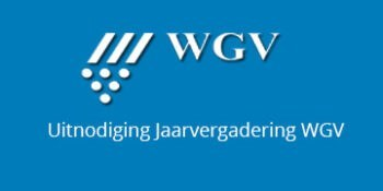 Uitnodiging jaarvergadering WGV
